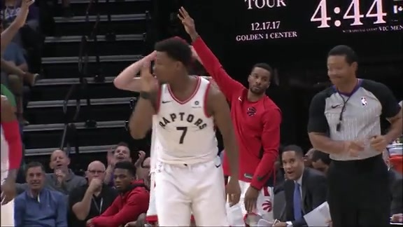 Raptors Highlights: Lowry Connect 4 - December 10, 2017