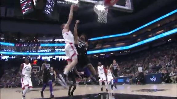 Raptors Highlights: Poeltl Throwdown - December 10, 2017
