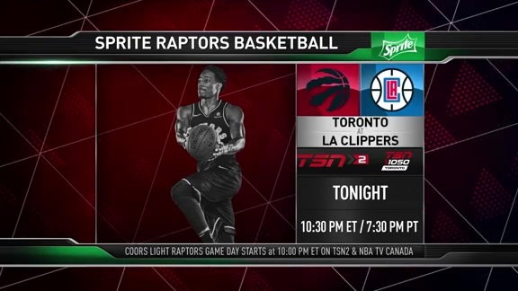Raptors Game Preview: Toronto at Los Angeles Clippers - December 11, 2017