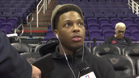 Raptors Shootaround: Kyle Lowry - December 13, 2017