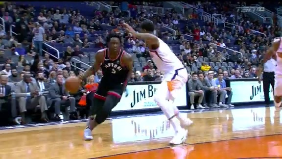 Raptors Highlights: OG Drives and Scores - December 13, 2017