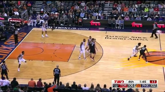 Game Highlights: Raptors at Suns - December 13, 2017