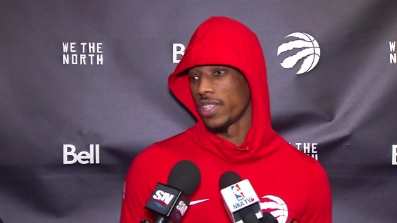 Raptors Shootaround: DeMar DeRozan - December 15, 2017