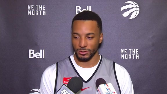 Raptors Shootaround: Norman Powell -December 15, 2017