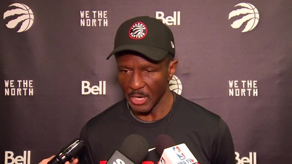 Raptors Shootaround: Dwane Casey - December 15, 2017