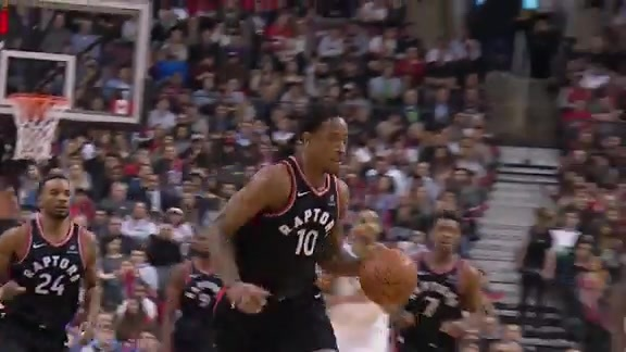 Raptors Highlights: DeRozan Goes Behind-the-Back - December 15, 2017