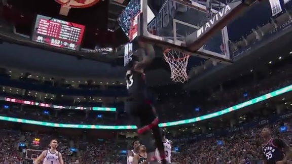 Raptors Highlights: Wright to Siakam Alley-Oop - December 15, 2017