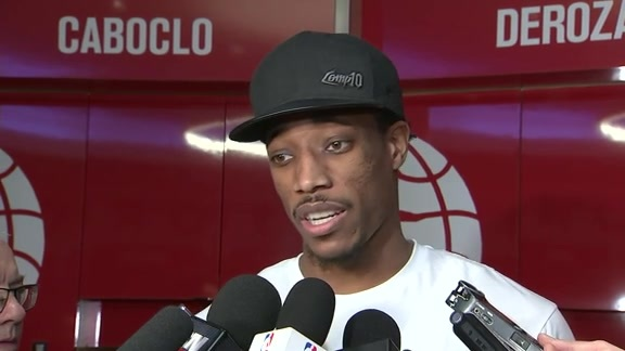 Raptors Post-Game: DeMar DeRozan - December 15, 2017