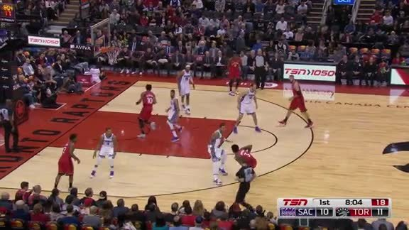 Game Highlights: Kings at Raptors - December 17, 2017