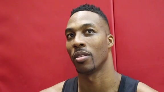 Dwight Howard: Post Practice 9/30/15