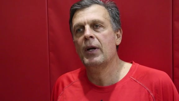 Kevin McHale: Post Practice 10/05/15