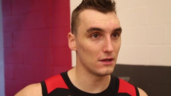 Sam Dekker: Post Practice 10/10/15