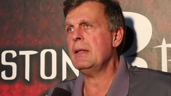 Kevin McHale: Post Game 10/11/15