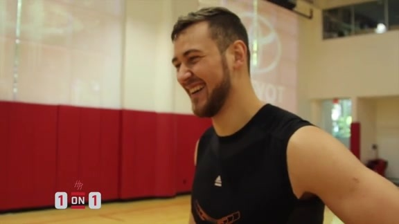 One on One - Donatas Motiejunas