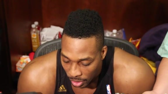 Dwight Howard: Post Game 11-18-15