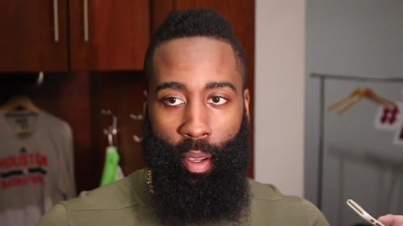 James Harden: Post Game 11-21-15