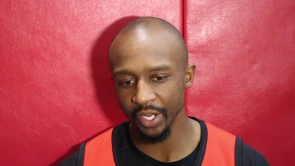 Jason Terry: Post Practice 11/24/15