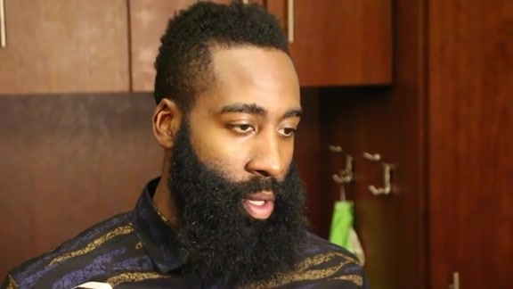 James Harden: Post Game 11-27-15