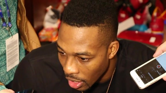 Dwight Howard: Post Game 11-27-15