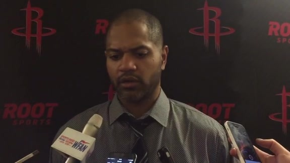 J. B. Bickerstaff: Post Game 11/29/15