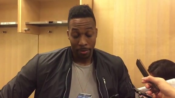 Dwight Howard: Post Game 11-29-15
