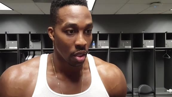 Dwight Howard: Post Game 01-17-16