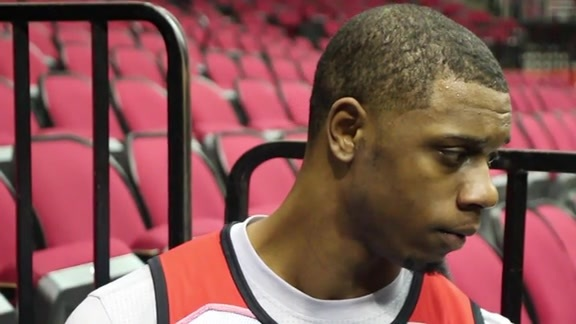 Terrence Jones : Shoot Around 01/22/16
