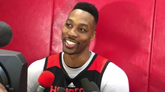 Dwight Howard: Post Practice 02-02-16