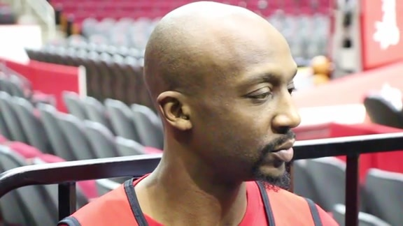 Jason Terry: Shoot Around 02/02/16