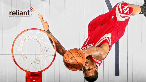 January Reliant Power Player of the Month - Trevor Ariza