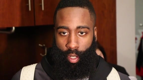 James Harden: Post Game 02-06-16