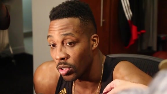 Dwight Howard: Post Game 02-06-16