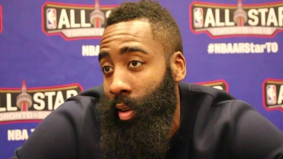 James Harden: All Star Media Circuit