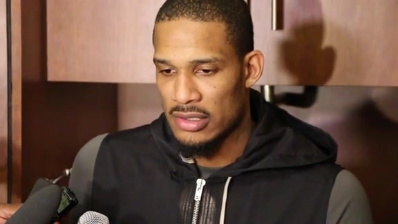 Trevor Ariza: Post Game 04-21-16