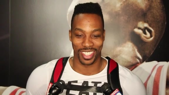 Dwight Howard: Post Practice 04-22-16