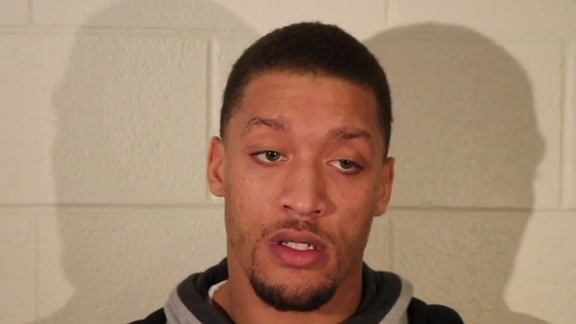Michael Beasley: Post Practice 04-25-16