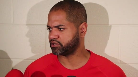 J. B. Bickerstaff: Post Practice 04-25-16