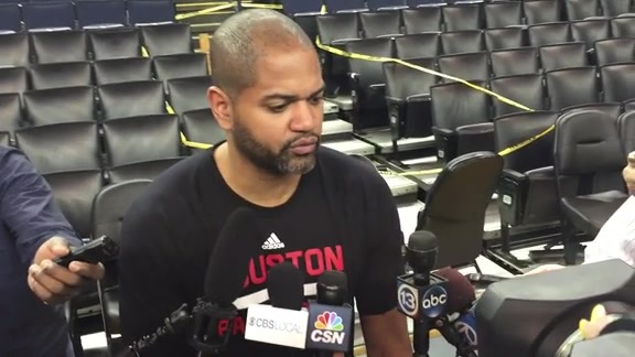 J.B. Bickerstaff: Post Practice 04-26-16
