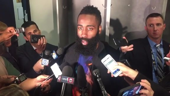 James Harden: Post Game 04-27-16