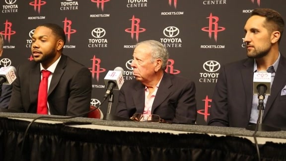 Press Conference: Ryan Anderson & Eric Gordon 07/09/16
