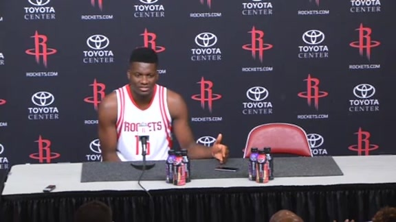 2016 Media Day - Clint Capela