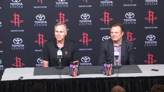 2016 Media Day - Morey & D'Antoni