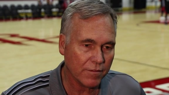 Training Camp 2016: Mike D'Antoni 09/24/16