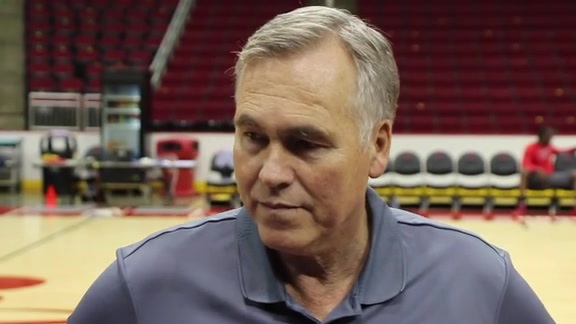 Training Camp 2016: Mike D'Antoni 09/28/16