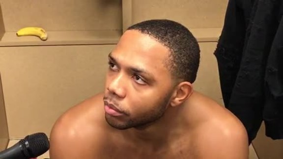 Postgame Interviews: Eric Gordon 11-12-17