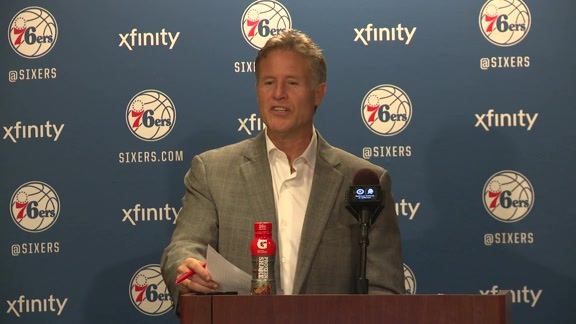 Postgame: Brett Brown (1/26)