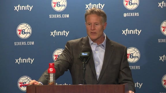 Postgame: Brett Brown (1/30)