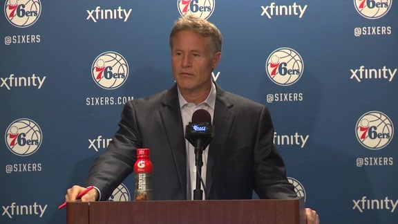 Postgame: Brett Brown (2/3)