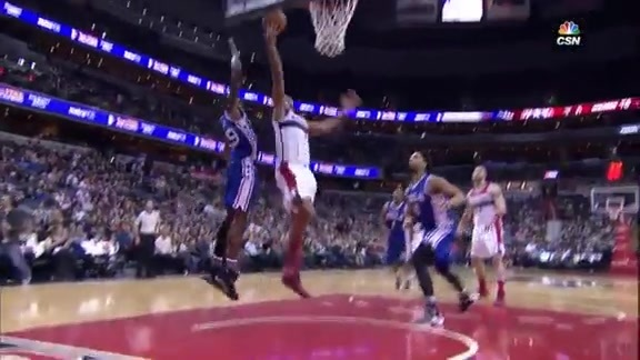 Highlights: Jerami Grant vs Wizards (2/5/16)
