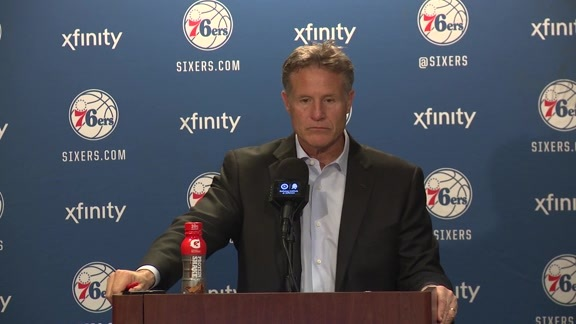 Postgame: Brett Brown (2/6)